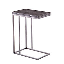 Clarkdom Expandable C-Table in White