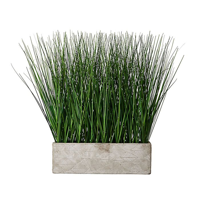 Alternate image 1 for Elements Artificial Potted Grass