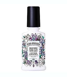 Desodorante de aceites esenciales naturales Poo-Pourri® Before You Go® aroma menta lavanda de 118 mL