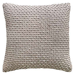 Solid Textured 20-Inch Square Throw Pillow