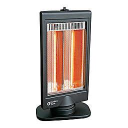 Comfort Zone CZHTV9 Oscillating Halogen Heater in Black