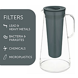 LifeStraw® Home Water Filter Pitcher in White