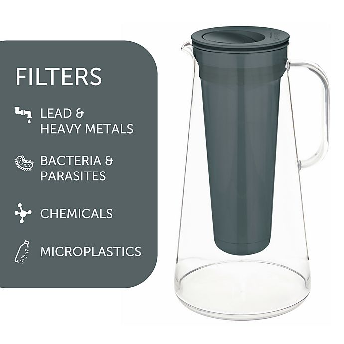 Alternate image 1 for LifeStraw® BPA-Free Water Filter Pitcher