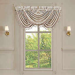 J. Queen New York™ Trinity Waterfall Window Valance in Champagne
