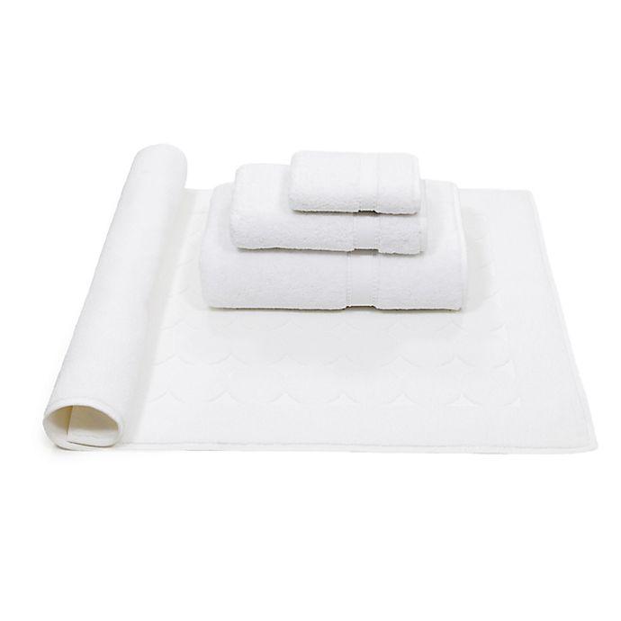 Alternate image 1 for Linum Home Textiles Sinemis 4-Piece Towel Set in White