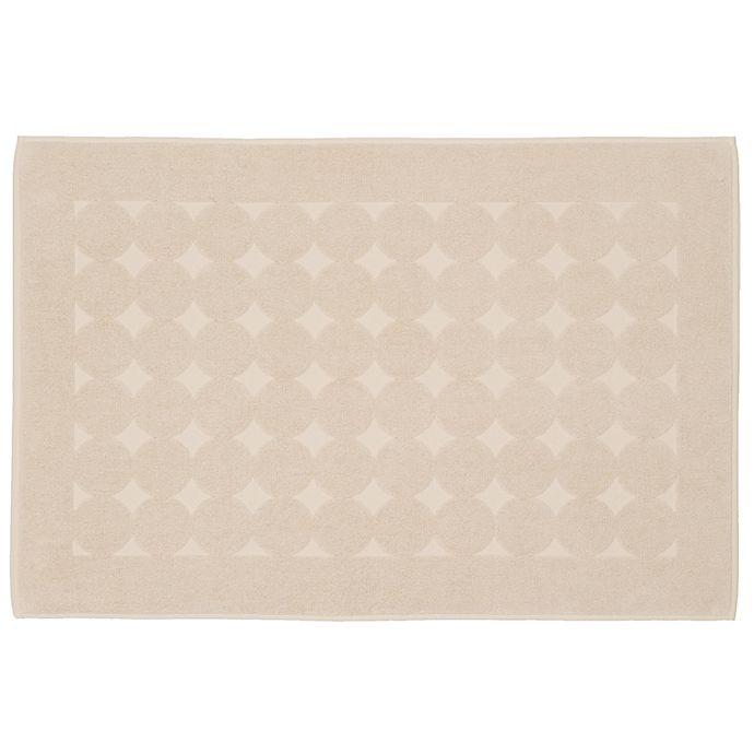 Alternate image 1 for Linum Home Textiles Sinemis Circle Design Bath Mat in Beige