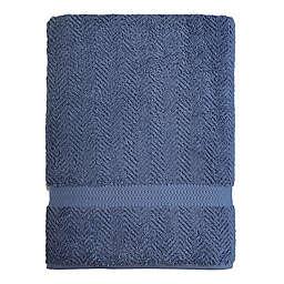 Linum Home Textiles Herringbone Bath Sheet