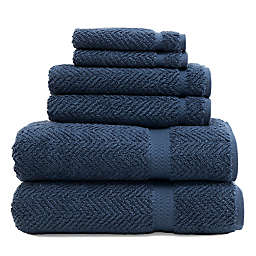 Linum Home Textiles Herringbone 6-Piece Towel Set