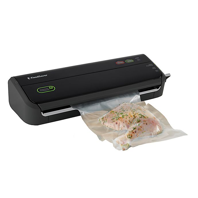 Alternate image 1 for FoodSaver® FM2000 Vacuum Sealing System in Black