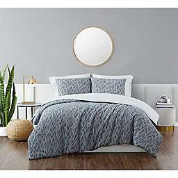 Brooklyn Loom® Honey Waffle 2-Piece Twin XL Comforter Set in Blue