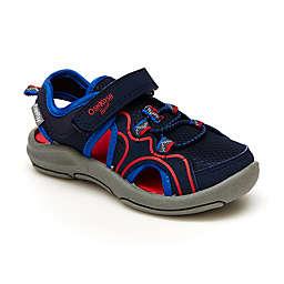 OshKosh B'gosh® Size 5 Sporty Sandal in Navy/Red
