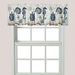 Laural Home® Seaside Postcard Window Valance