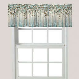 Laural Home® Dream Forest Window Valance in Blue/Ivory