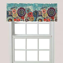 Laural Home® Blue Bird Boho Window Valance