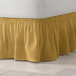 EasyFit™ Solid Twin/Full Ruffled Bed Skirt