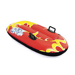 H2OGO! Snow Flurryz Inflatable Sled in Red