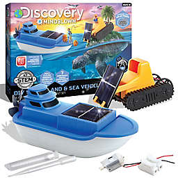 Discovery™ MINDBLOWN Kids DIY Solar Land and Sea Rover 26-Piece Playset