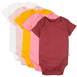 The Honest Company® 5-Pack Organic Cotton Short Sleeve Bodysuits