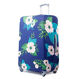 American Green Travel Floral Print Luggage Cover