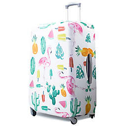 American Green Travel Tropical Print Luggage Cover