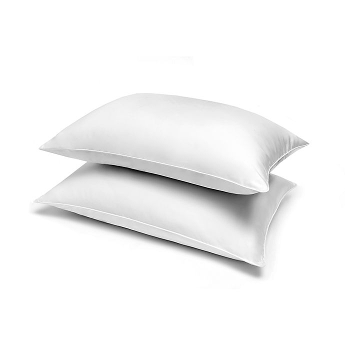 Alternate image 1 for Wamsutta® 2-Pack 1,200 Thread Count Down Alternative Bed Pillows