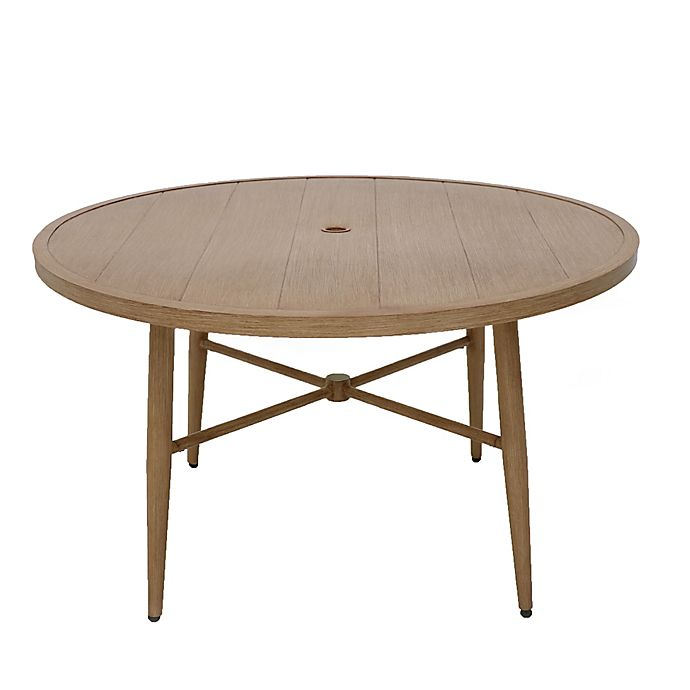 Alternate image 1 for Bee & Willow™ Home Nantucket Round Dining Table in Natural