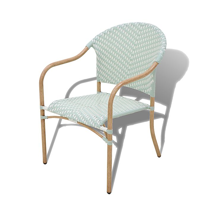 Alternate image 1 for Bee & Willow™ Home Nantucket Wicker Stacking Chairs (Set of 2)