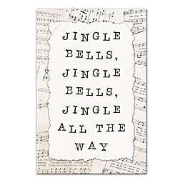 Jingle Bells 12x18 Canvas Wall Art