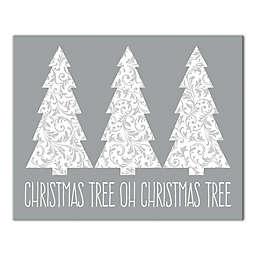 Oh Christmas Tree 10x8 Canvas Wall Art