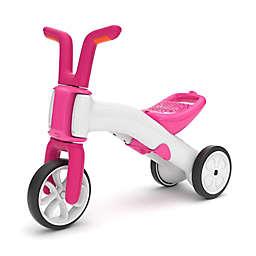 Chillafish Bunzi Gradual Balance Bike and Tricycle in Pink