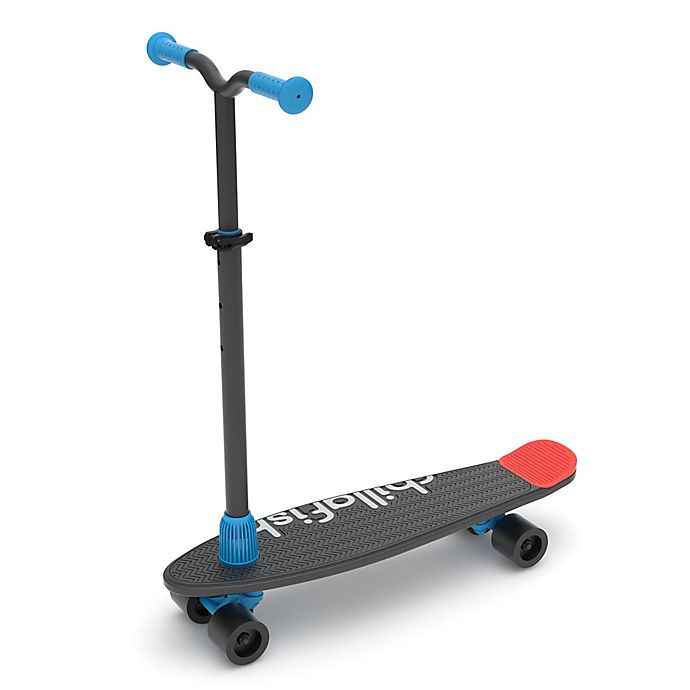 Alternate image 1 for Chillafish Skatieskootie 2-in-1 Skateboard and Scooter