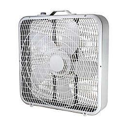 Comfort Zone® 20-Inch Box Fan in White