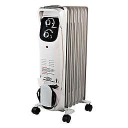 Comfort Zone® CZ8008 Oil-Filled Radiator Heater in Grey