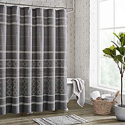 72-Inch x 72-Inch Meera Shower Curtain in Grey