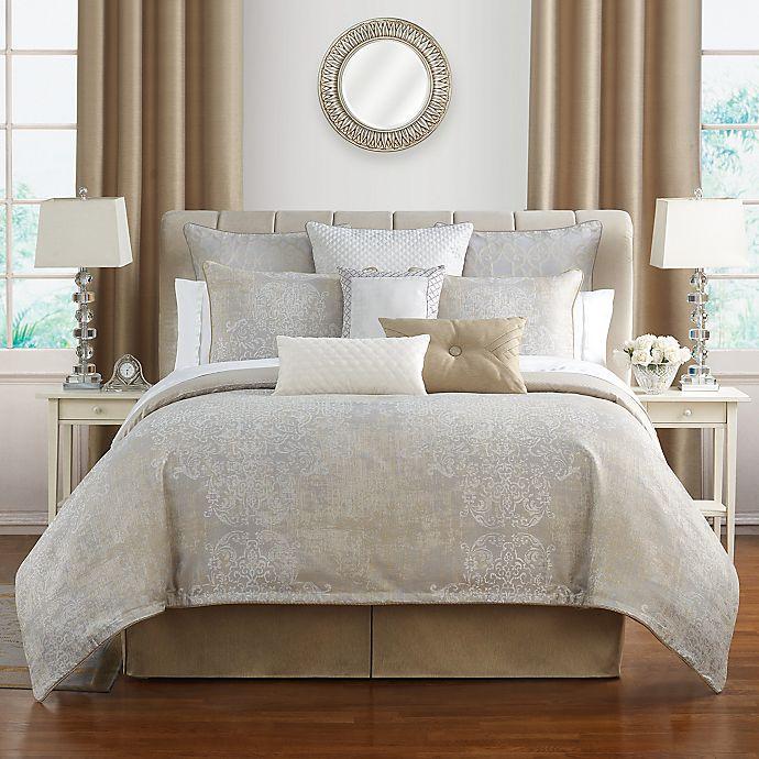 Alternate image 1 for Waterford® Maritana 4-Piece Reversible Comforter Set