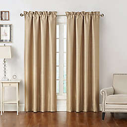 Waterford® Maritana 2-Pack 84-Inch Rod Pocket Window Curtain Panels in Neutral