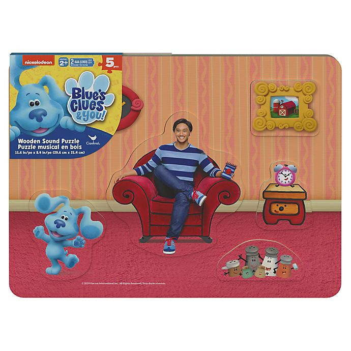 Alternate image 1 for Spin Master™ Nickelodeon™ Blue Clues & You! 25-Piece Sound Puzzle