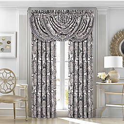 J.Queen New York™ Guiliana 2-Pack 95-Inch Rod Pocket Window Curtain Panels in Silver