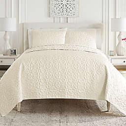 Waterford® Mosaic 3-Piece Coverlet Set
