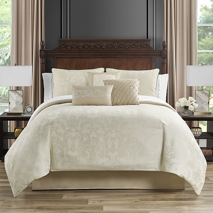 Marquis® by Waterford Bridget 7-Piece King/California King Comforter Set in Gold