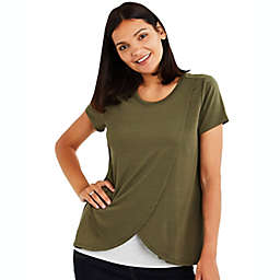 A Pea in the Pod Pull Over Open Front Nursing Tee