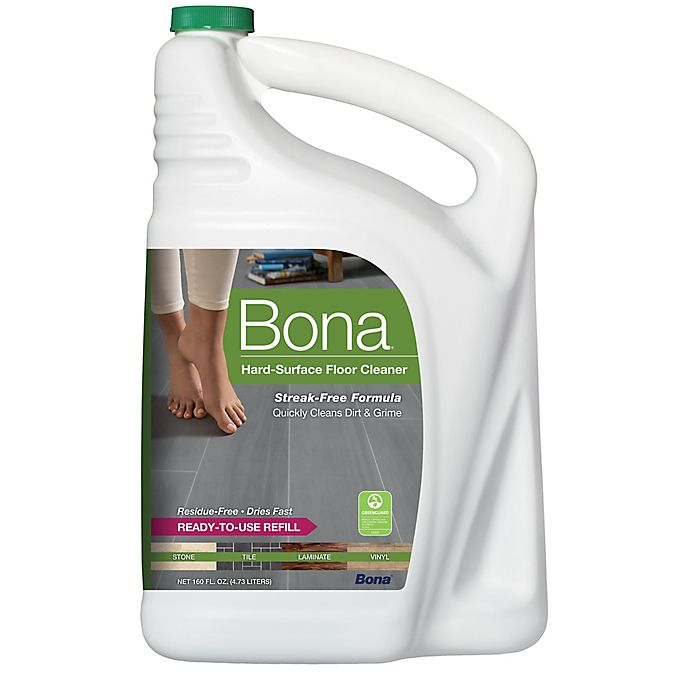 Alternate image 1 for Bona® Hard-Surface Floor Cleaner Refill 160 oz.