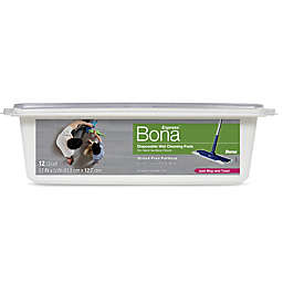 Bona® Disposable Wet Cleaning Pads for Hard-Surface Floors 12 ct.
