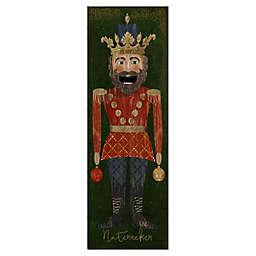 Masterpiece Art Gallery Beth Albert Nutcracker King 12-Inch x 36-Inch Canvas Wall Art