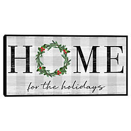 Masterpiece Art Gallery Hart Home for the Holidays 17-Inch x 34-Inch Framed Canvas Wall Art