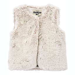 carter's® Faux Fur Vest in Cream