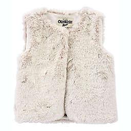 carter's® Size 9M Faux Fur Vest in Cream