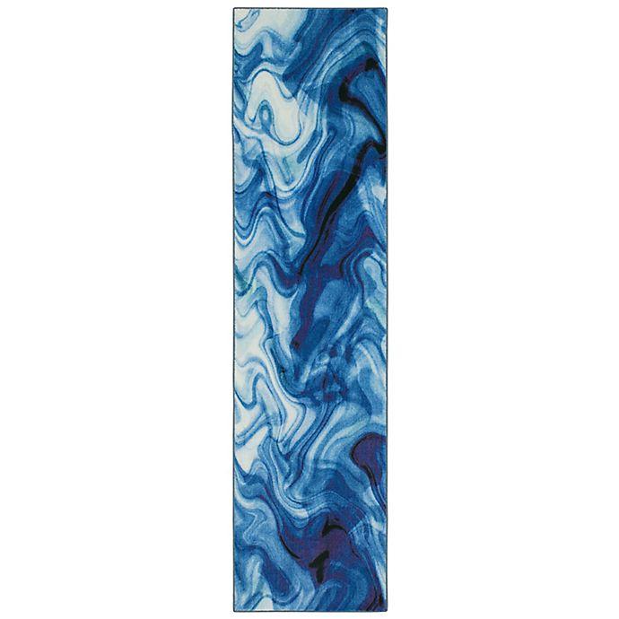 Alternate image 1 for Mohawk® Home Prismatic Wavelength 2' x 5' Runner in Water