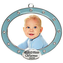 Crystals from Swarovski® Harvey Lewis™ First Christmas Frame Ornament