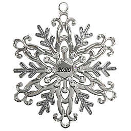 Crystal from Swarovski® Harvey Lewis™ Snowflake 2020 Christmas Ornament